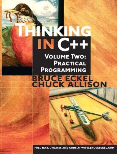 9780130353139: Thinking in C++, Volume 2: Practical Programming: United States Edition