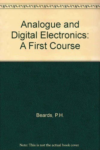 9780130353207: Analog and Digital Electronics: A First Course