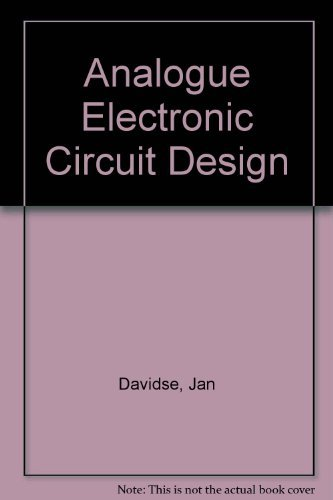 9780130353467: Analog Electronic Circuit Design