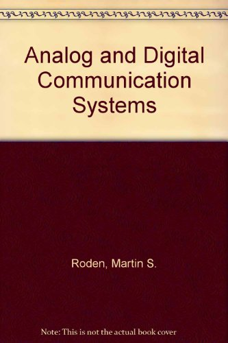 9780130353535: Analog and Digital Communication Systems