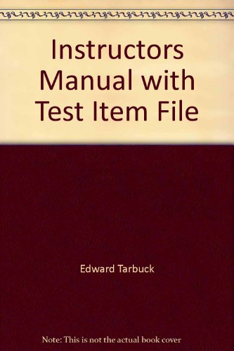 9780130354358: Instructors Manual with Test Item File