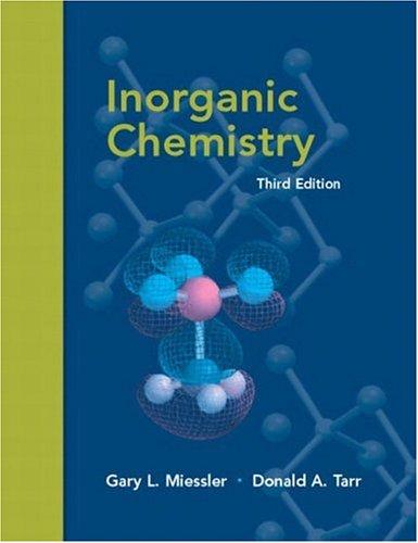 9780130354716: Inorganic Chemistry (3rd Edition)