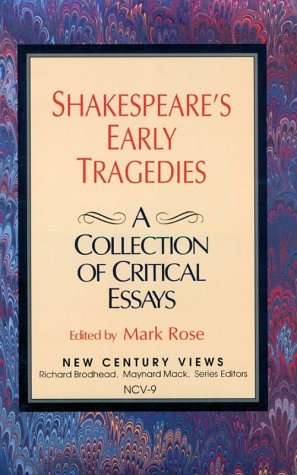 9780130355447: Shakespeare's Early Tragedies: A Collection of Critical Essays