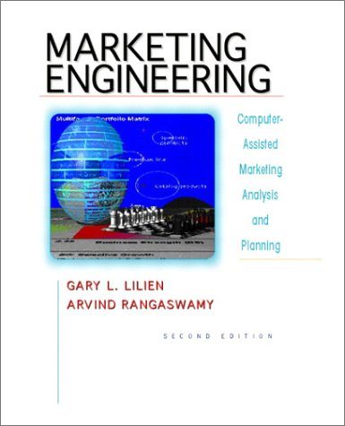 9780130355492: Marketing Engineering: Computer-Assisted Marketing Analysis and Planning (2nd Edition)