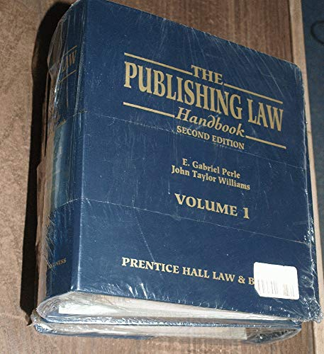 9780130356017: The Publishing Law Handbook
