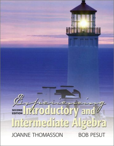 9780130356826: Experiencing Introductory and Intermediate Algebra (2nd Edition)