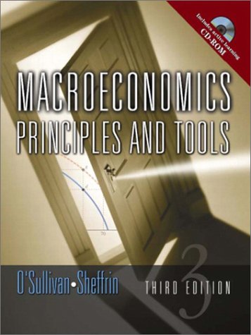 9780130358110: Macroeconomics: Principles and Tools (3rd Edition)