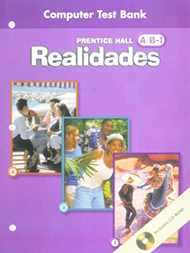 PRENTICE HALL SPANISH REALIDADES COMPUTER TEST BANK: HALL, PRENTICE