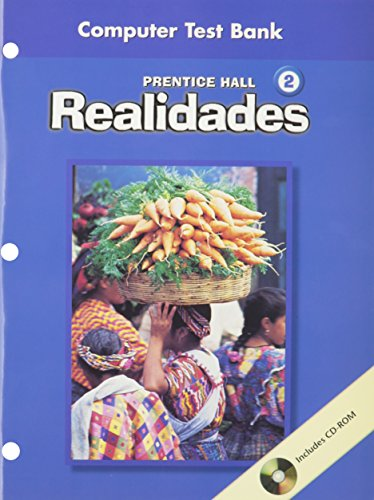 9780130359834: PRENTICE HALL SPANISH REALIDADES COMPUTER TEST BANK LEVEL 2 FIRST EDITION 2004C