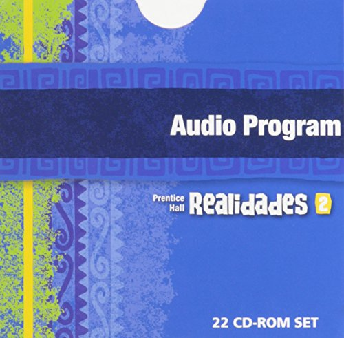9780130359940: PRENTICE HALL SPANISH REALIDADES AUDIO PROGRAM LEVEL 2 FIRST EDITION    2004
