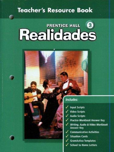 9780130360229: Realidades 3 Teacher's Resource Book
