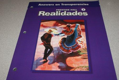 Realidades: Answers on Transparanies (One): XXX