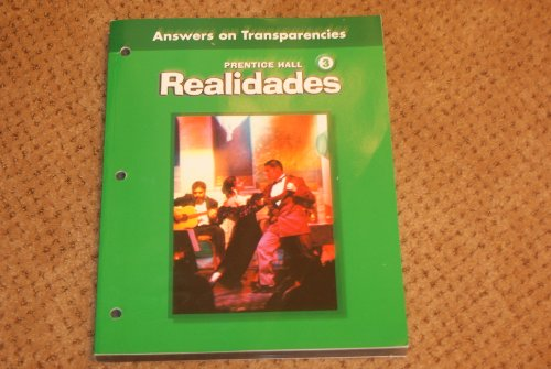 9780130360267: Realidades 3 : Practice Answers on Transparencies