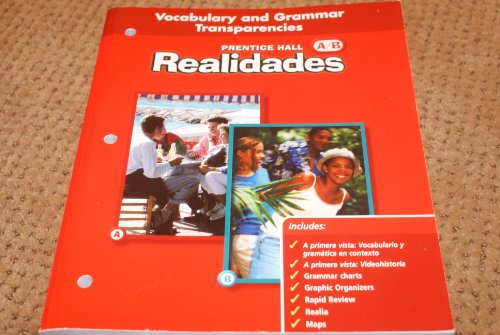 9780130360274: Vocabulary and Grammer Transparencies Realidades A/b