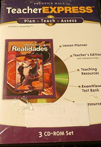 9780130360328: Teacher Express 3 CD-ROM Set  Realidades 1