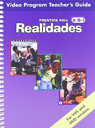 PRENTICE HALL SPANISH REALIDADES VIDEO PROGRAM DVD LEVEL A/B/1 FIRST EDITION 2004C: ...