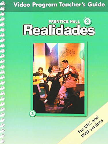 9780130360403: PRENTICE HALL SPANISH REALIDADES VIDEO PROGRAM DVD LEVEL 3 FIRST        EDITION 2004C