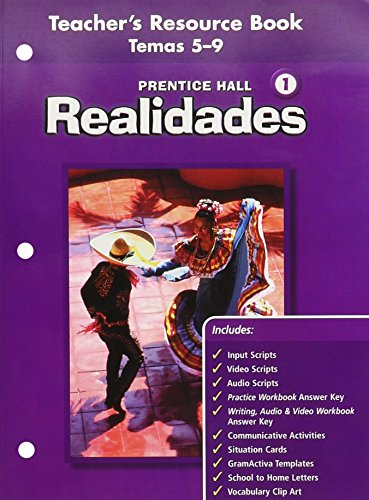 9780130360441: PRENTICE HALL SPANISH REALIDADES TEACHER'S RESOURCE BK LEVEL 1, VOLUME 2 (THEMES 5 THROUGH 9) FIRST EDITION 2004C
