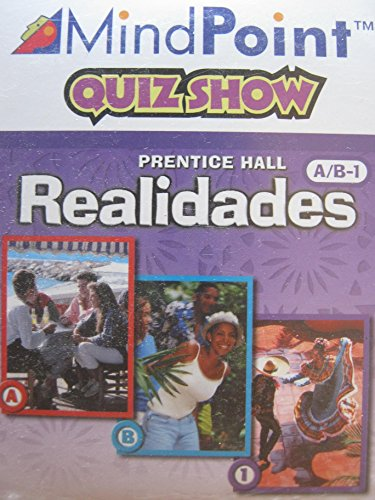 9780130360489: PRENTICE HALL SPANISH REALIDADES GAME CD-ROM LEVEL A/B/1 FIRST EDITION 2004C