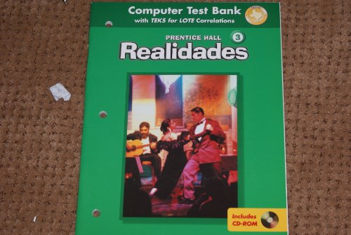 9780130360762: Realidades 3 - Texas Edition (Computer Test Bank with TEKS for LOTE Correlations)