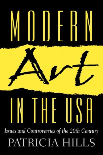 9780130361387: Modern Art in the USA: Issues and Controversies of the 20th Century