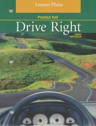 Drive Right Lesson Plans: various