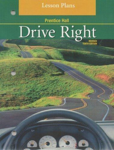 9780130362230: Drive Right Lesson Plans
