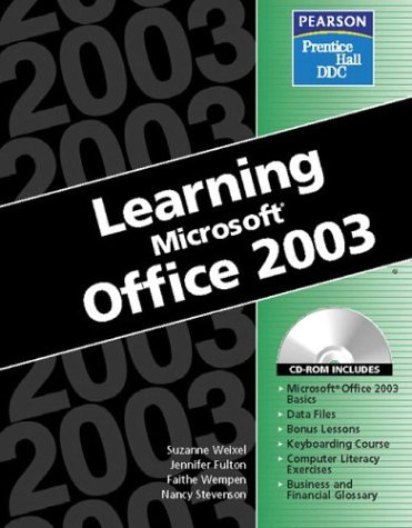 9780130365224: Learning Series (DDC): Learning Microsoft Office 2003