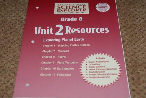 9780130366597: Prentice Hall Science Explorer Grade 8 Tennessee Edition Unit 2 Resources Exploring Plant Earth