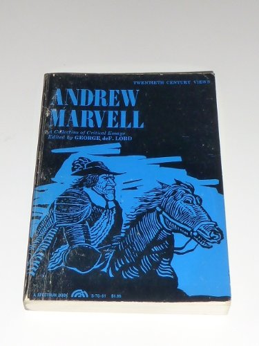 9780130366658: Andrew Marvell: Collection of Critical Essays (20th Century Views)
