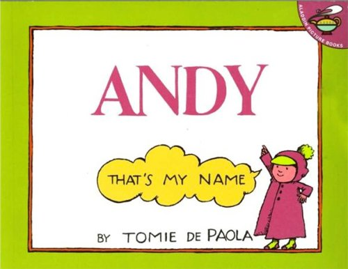 9780130367310: Andy-Thats My Name