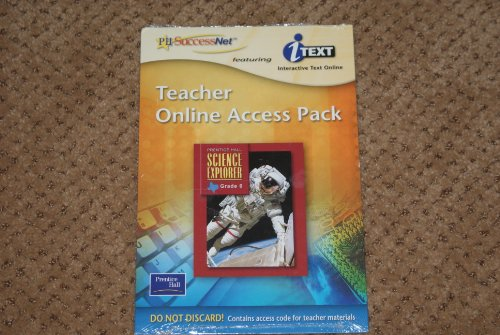 9780130368546: Ph Successnet Interactive Text Online Science Explorer Grade 8 Texas Edition