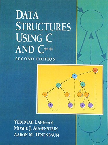 9780130369970: Data Structures Using C and C++ (2nd Edition)