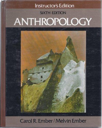 9780130371935: Anthropology