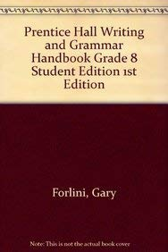 9780130373434: Writing and Grammar: Communication in Action : Silver Level Handbook Edition 2003