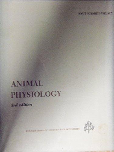 9780130373908: Animal Physiology (Foundations of Modern Biology)