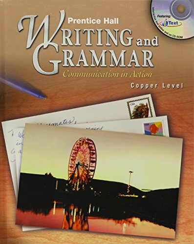9780130374837: PRENTICE HALL WRITING AND GRAMMAR GRADE 6 STUDENT EDITION 2ND EDITION 2004