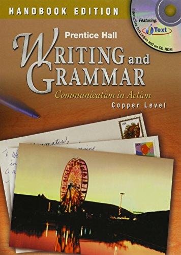 9780130375469: PH WRITING AND GRAMMAR HANDBOOK STUDENT EDITION GRADE 6 2004C