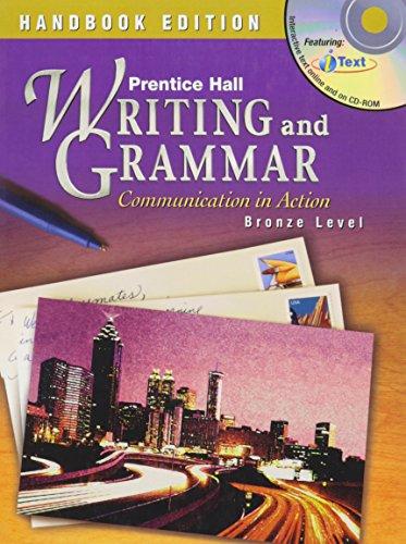 9780130375476: PRENTICE HALL WRITING AND GRAMMAR HANDBOOK STUDENT EDITION GRADE 7 2004C