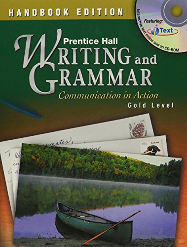 9780130375490: PRENTICE HALL WRITING AND GRAMMAR HANDBOOKS STUDENT EDITION GRADE 9 2004C