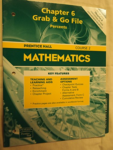 Prentice Hall Mathematics Chapter 6 Grab &: Pearson Prentice HAll
