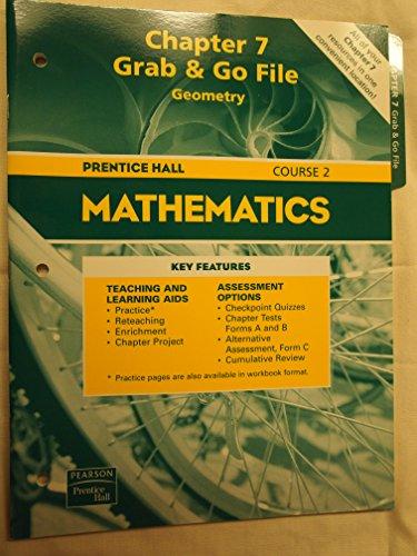 Prentice Hall Mathematics Chapter 7 Grab &: Pearson Prentice HAll