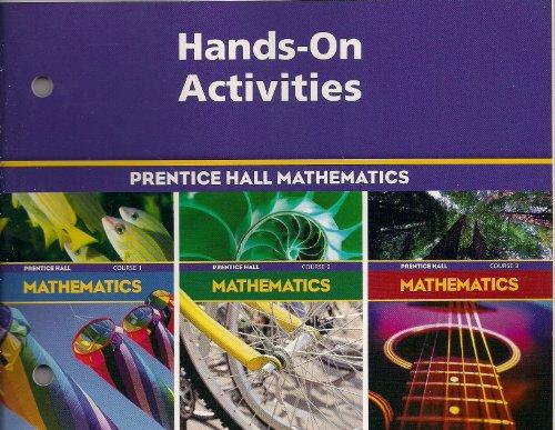 9780130377241: PRENTICE HALL MATH COURSE 1,2,3 HANDS-ON ACTIVITIES BLACKLINE MASTERS 2004 C