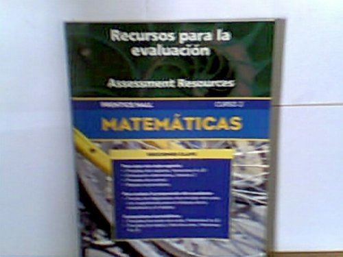 9780130377425: PRENTICE HALL MATH COURSE 2 SPANISH ASSESSMENT RESOURCES BLACKLINE      MASTERS 5TH EDITION 2004C