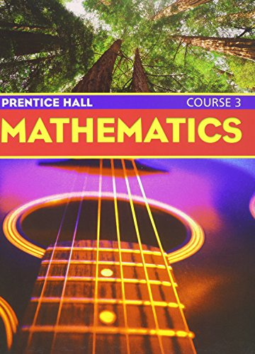 9780130377760: PRENTICE HALL MIDDLE GRADES MATH COURSE 3 STUDENT EDITION AND PRACTICE WORKBOOK 2004