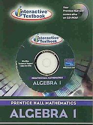 9780130378927: PRENTICE HALL MATH ALGEBRA 1 ITEXT CD-ROM 2004 C