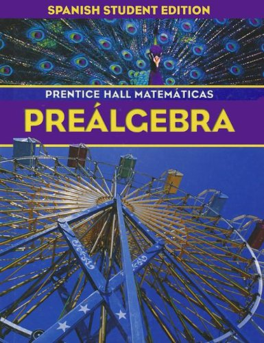 9780130379061: PRENTICE HALL MATH PRE-ALGEBRA SPANISH STUDENT EDITION 2004