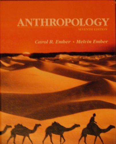 9780130381835: Anthropology