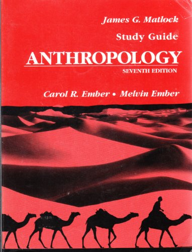 9780130382177: Anthropology: Study guide