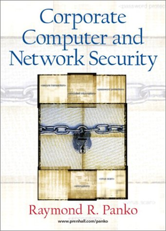 9780130384713: Corporate Computer and Network Security (Pie)